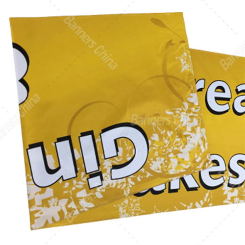 Double Sided Printing Fabric Banners