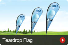 Teardrop Flag Banners