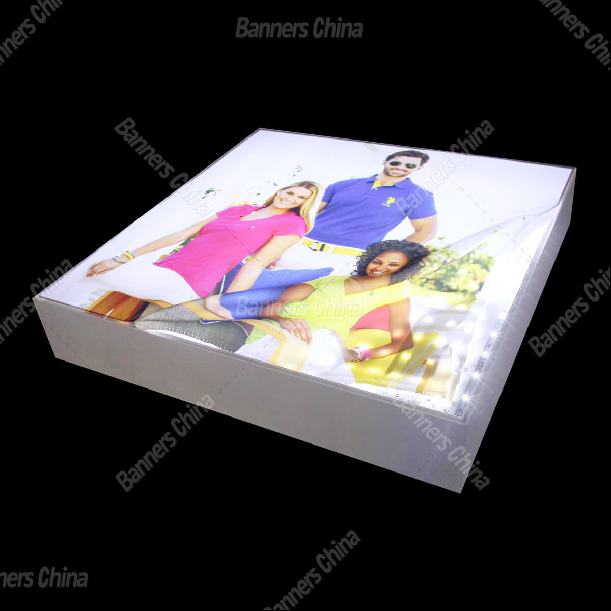10mm Thickness Fabric LED Light Box