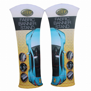 Curved Tru-fit Viper Tension Fabric Trade Show Banner Stands