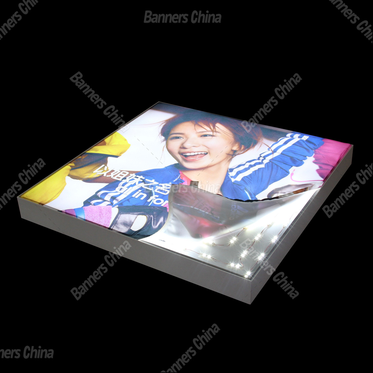 6mm Thickness LED Fabric Light Box